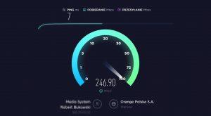 NordVPN speedtest pobieranie