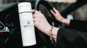 Ecoperla Ecobott - butelka z trzciny cukrowej do wielokrotnego użytku